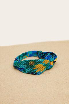 Womensecret Bandana flores nó azul