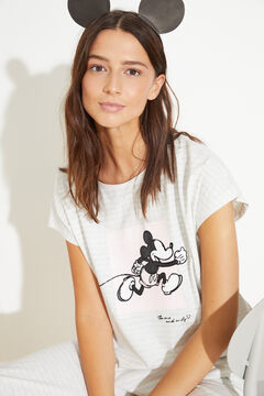 Womensecret Capri cotton Mickey pyjamas grey