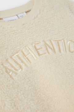 Womensecret Sweatshirt de lã menina branco
