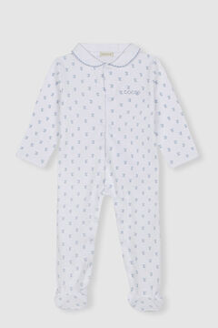 Womensecret Pijama jersey niño blanco