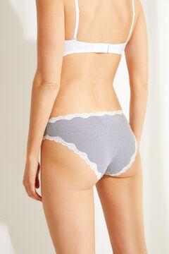 Womensecret 3-pack classic maternity panties grey