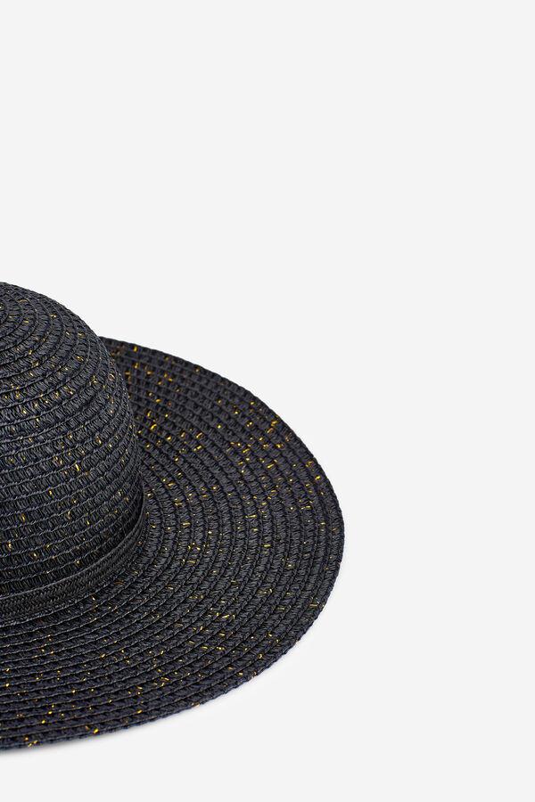 Womensecret Sombrero con brillo negro. Shop now!