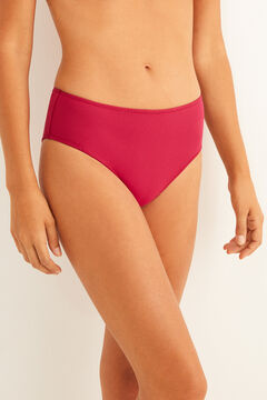 Womensecret High cut bikini bottoms pink