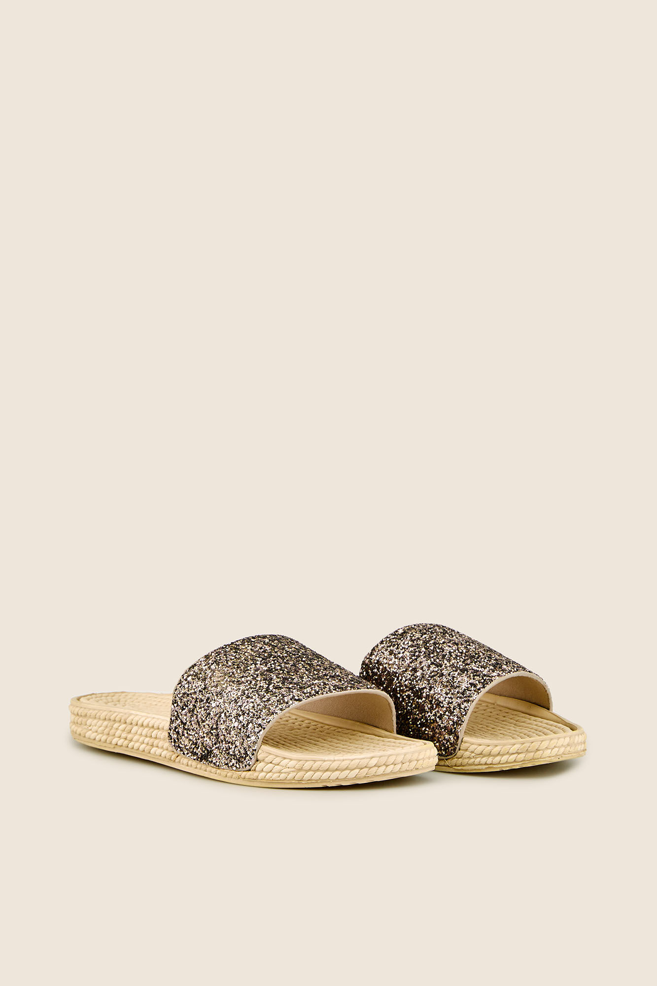 Open sparkly sandals | Accessories | Women'secret