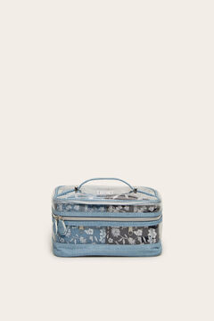 Womensecret 3er-Pack Kosmetiktasche  Blau
