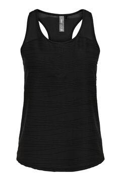Womensecret Camiseta tirantes entrenamiento negro
