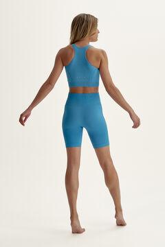Womensecret Short Soma Zen Blue azul