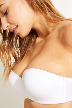 Womensecret Strapless push up bra white