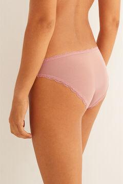 Womensecret Classic pink mesh panty #idocare pink