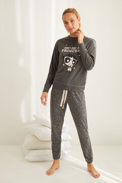 Womensecret Long-sleeved Powerpuff Girls pyjamas grey