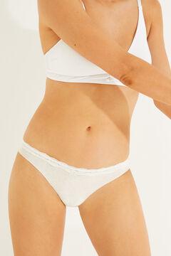 Womensecret 3-pack classic cotton panties printed