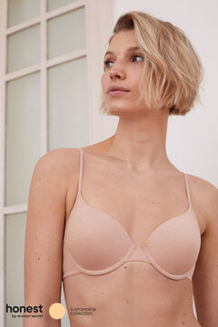 Womensecret Soutien clássico algodão orgânico cru