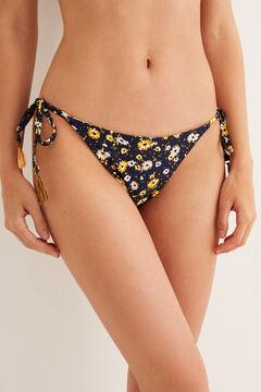 Womensecret Reversible bikini bottoms printed