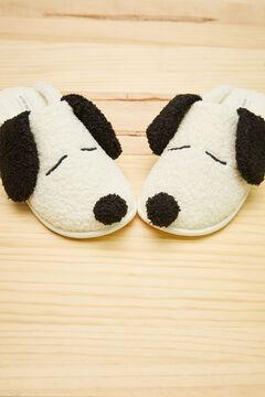 Womensecret Zapatillas Snoopy 3D beige