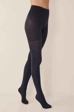 Womensecret Support tights 90 DEN blue