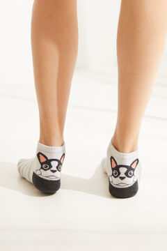 Womensecret Dog cotton ankle socks  printed