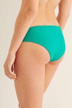 Womensecret Culotte bikini ceinture  vert