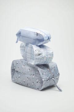 Womensecret 3-pack grey Snoopy travel bags beige
