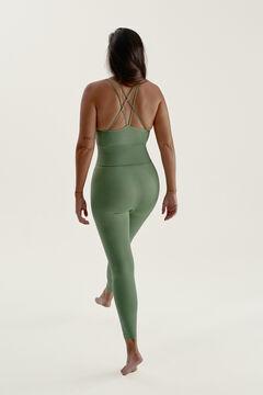 Womensecret Conjunto Rena camiseta con sujetador y legging Fit & Feel