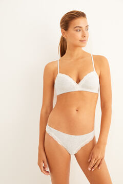 Womensecret Organic cotton bra and panties set