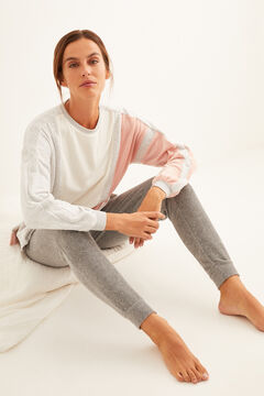 Womensecret Velour sweatshirt and micro corduroy trousers