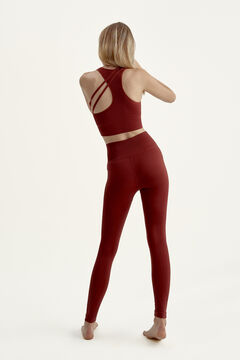 Womensecret Conjunto crop top y legging seamless