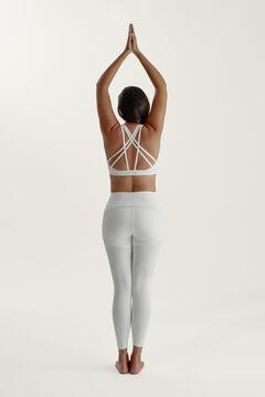 Womensecret Conjunto Indi sujetador con tirantes y legging push up
