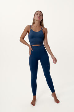 Womensecret Conjunto Prasarita crop top seamless y legging compresivo