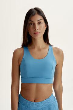 Womensecret Conjunto Sujetador Top y Short Padma Zen Blue