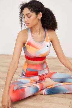 Womensecret Conjunto de sujetador y legging multicolor