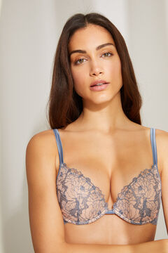 Womensecret Push-up bra and embroidered panties set