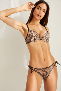 Womensecret Push up bra and lace panties set