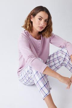 Womensecret Conjunto de t-shirt e calças compridas
