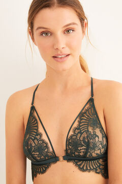 Womensecret Green lace set