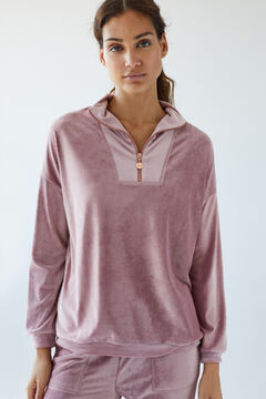 Womensecret Pink long shirt and trousers set