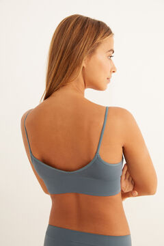Womensecret Blue seam-free set