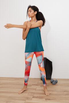 Womensecret Conjunto camiseta nadadora y legging multicolor