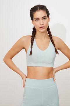 Womensecret Conjunto sujetador deportivo y short entrenamiento