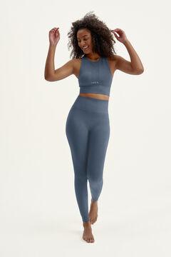 Womensecret Conjunto Astanga crop top y legging