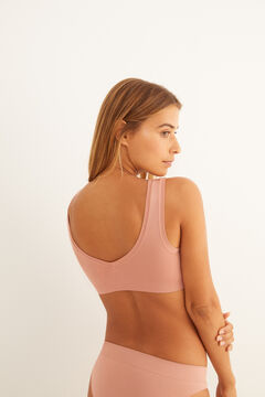 Womensecret Plain nude seam-free set