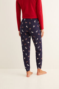 Womensecret Red and blue pyjama set