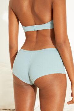 Womensecret Triangle bra and boyshort panty set