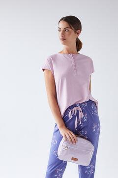 Womensecret Long t-shirt, pants and vanity case set