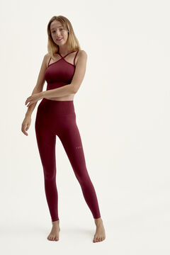 Womensecret Conjunto top seamless y legging tight fit