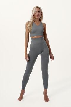 Womensecret Conjunto Malati de top seamless y legging compresivo moldeador