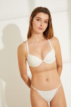 Womensecret Padded bra and classic panty set