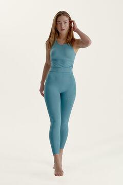 Womensecret Conjunto Dharma camiseta con sujetador y legging seamless