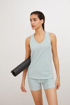Womensecret Conjunto t-shirt sem mangas e calções