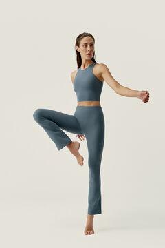 Womensecret Conjunto de sujetador top y legging Kashmir Stormy Grey