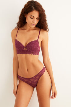 Womensecret Garnet lace set